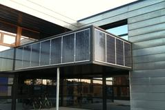 Fassadenanlage Holland
